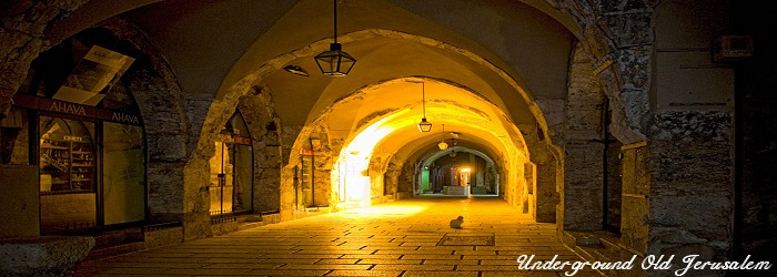 Underground Alley - Old Jerusalem